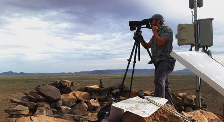 MS Thesis: Habitat Use by Rare Sonoran Pronghorn on Military TrainingRange