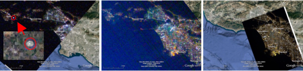 CubeSats to measure light pollution